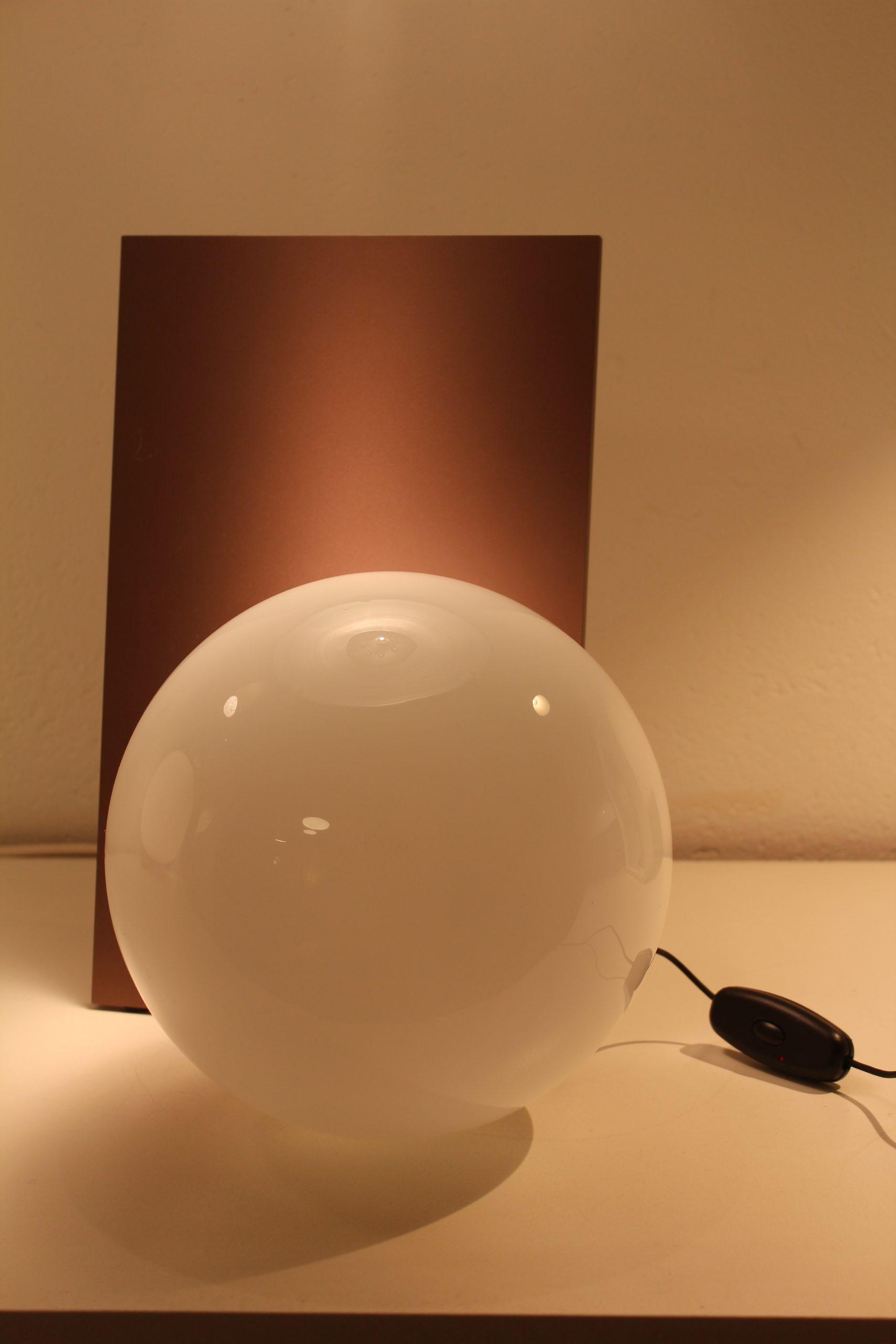 lampe extra t flos verre soufflé